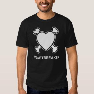 Heartbreaker (branco) t-shirts