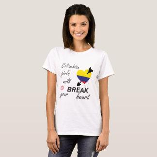 Heartbreaker colombiano camiseta