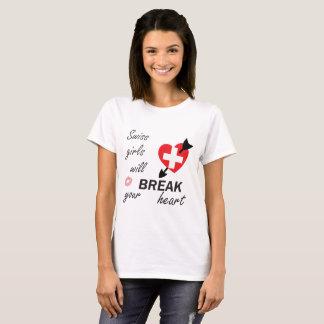 Heartbreaker suíço camiseta