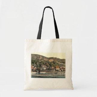 Heidelberg, visto do Hirschgasse, Baden, germe Bolsas Para Compras