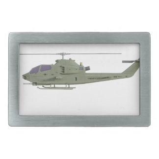 Helicóptero de Apache no perfil da vista lateral