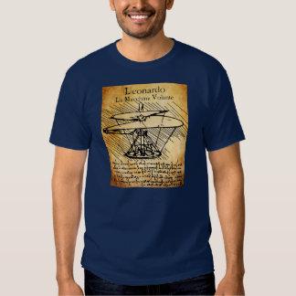 Helicóptero de Leonardo da Vinci Tshirt