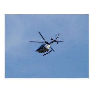 Helicóptero espanhol de Messerschmitt da polícia Cartão Postal