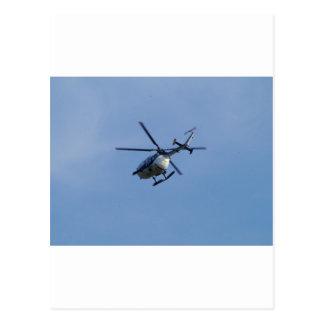 Helicóptero espanhol de Messerschmitt da polícia Cartao Postal