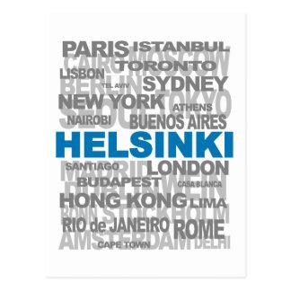 HELSÍNQUIA & o outro cartão das cidades