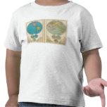 Hemisfério ocidental e oriental tshirts