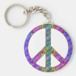 Hendrix na paz chaveiros