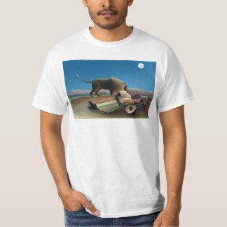 Henri Rousseau - cigano de sono Camiseta
