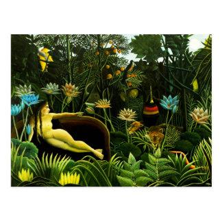 Henri Rousseau o cartão ideal