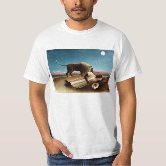 Henri Rousseau o t-shirt aciganado do sono