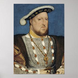 Henry VIII - Hans Holbein o mais novo Pôster