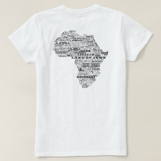Herança de Israel (traseira) Camiseta