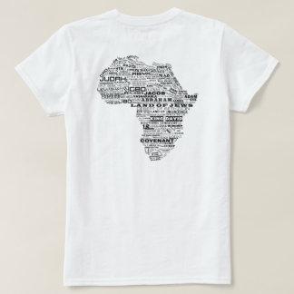 Herança de Israel (traseira) T-shirt