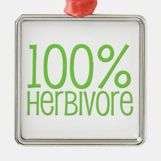 Herbívoro 100% ornamento de metal