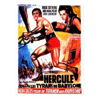 """Hercules e os tirano cartão de Babylon"""