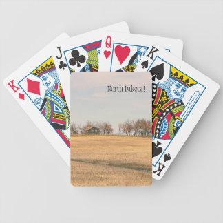 Herdade abandonada da pradaria em North Dakota #3B Jogos De Cartas