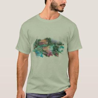 Herdade de PMACarlson, camisa das montanhas T de