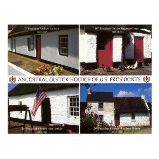 Herdades presidenciais dos E.U. em Ulster Cartão Postal