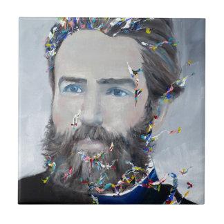 Herman Melville - retrato do óleo