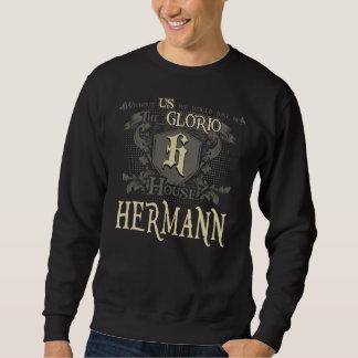 HERMANN da casa. Camisa do presente para o