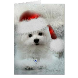 Hermes o cartão de Natal maltês