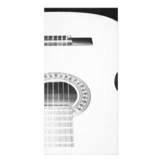 Herói da guitarra cartões com fotos