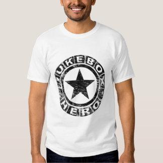 Herói do jukebox camisetas
