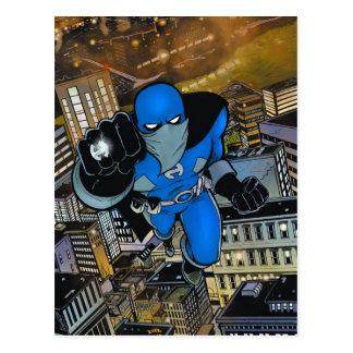 Herói pelo cartão do cobrir da edição 1 da noite