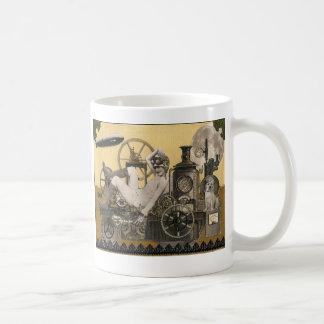 Heroína de Steampunk Caneca De Café