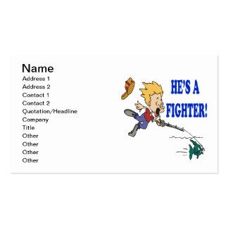 Hes um lutador 2 cartão de visita