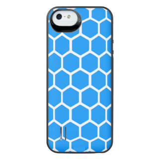 Hexágono 2 do Aqua Capa Carregador Para iPhone SE/5/5s