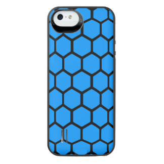 Hexágono 4 do Aqua Capa Carregador Para iPhone SE/5/5s