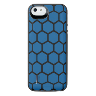 Hexágono 4 do oceano profundo capa carregador para iPhone SE/5/5s