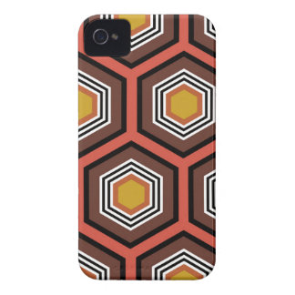 hexágono capa para iPhone 4 Case-Mate