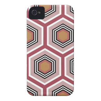 hexágono capas para iPhone 4 Case-Mate