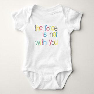 Hey! A força não é com você Body Para Bebê