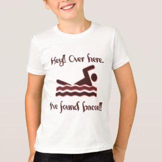 Hey aqui camiseta encontrada ive do bacon