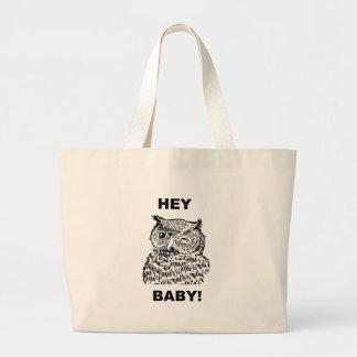 Hey bebê bolsa tote grande