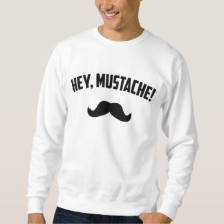 Hey bigode moletom