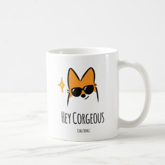 Hey caneca de Corgeous