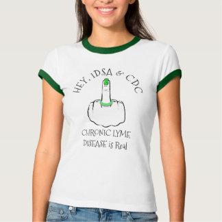 Hey, da doença de IDSA & de CDC Lyme camisa