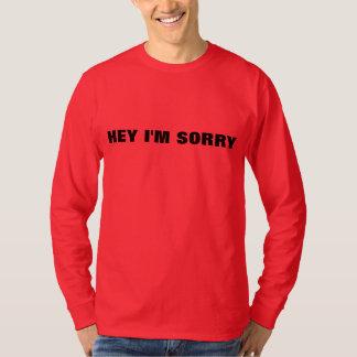 Hey eu sou pesaroso camiseta