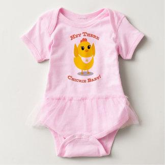 Hey lá bebê de Chickie - Bodysuit do tutu Body Para Bebê
