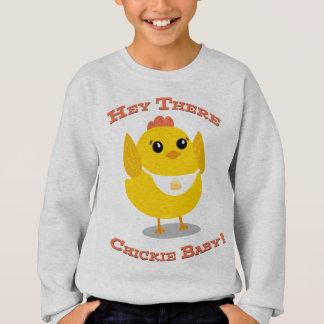 Hey lá bebê de Chickie - camisola dos miúdos Agasalho