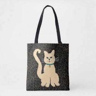 Hey o bolsa bonito do desenhista do gatinho por