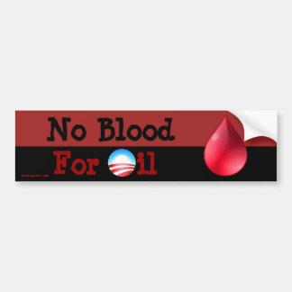 Hey Obama - nenhum sangue para o óleo Adesivo Para Carro
