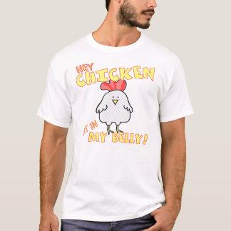 Hey t-shirt da galinha camiseta