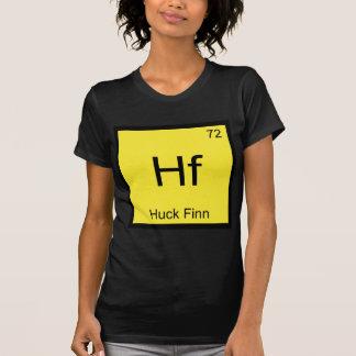 Hf - T engraçado do símbolo do elemento da química Camisetas