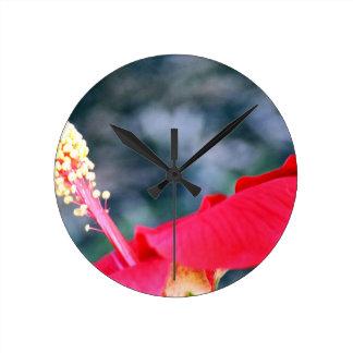 Hibiscus 4 relógios de pendurar