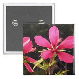 Hibiscus Flyer vermelho Botons